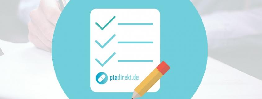 Bewerbungsvorlage für PTA zum Download